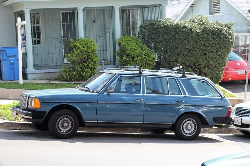 1983 mercedes-benz 300td wagon (w123) – la car spotting