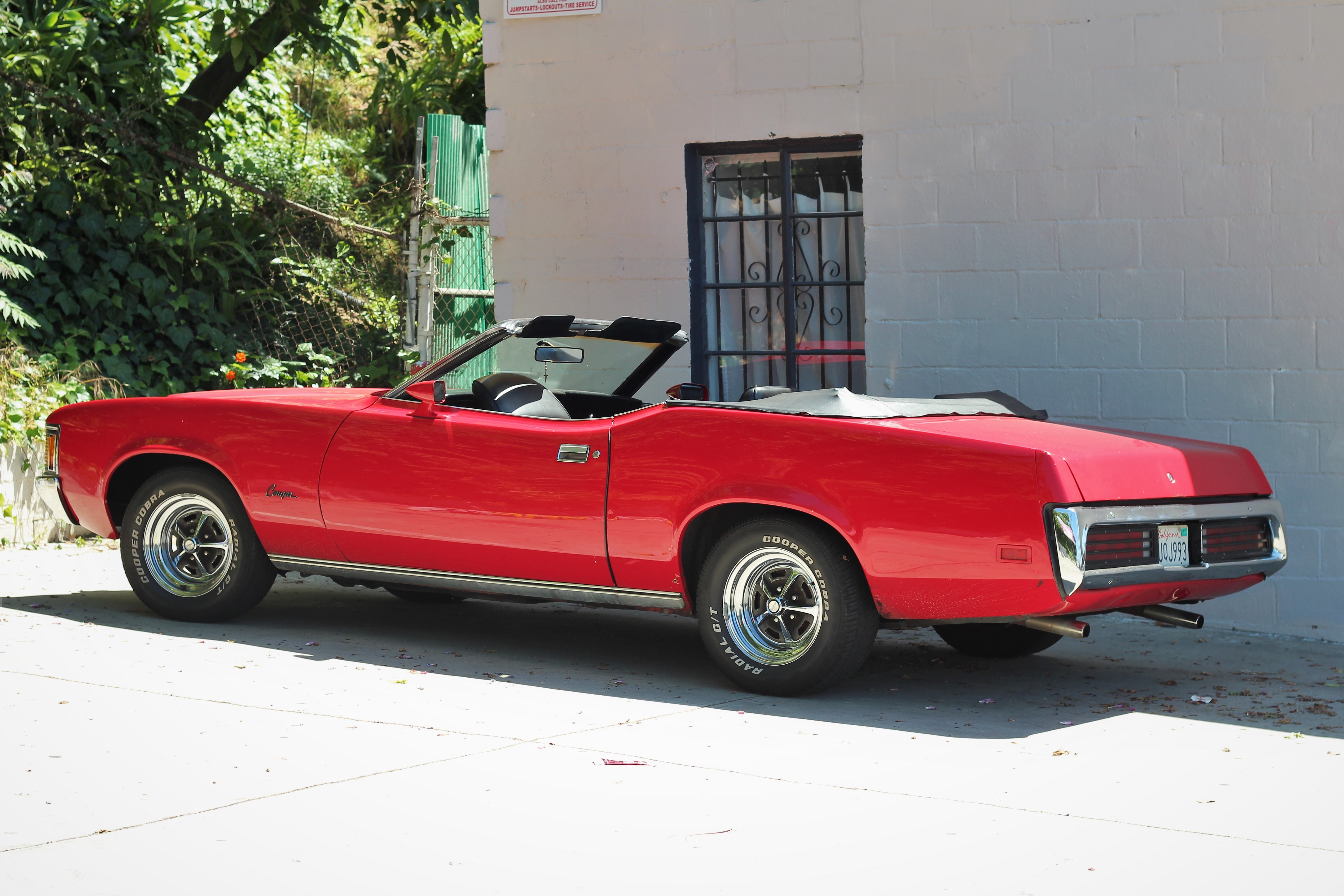 25 1971 mercury cougar convertible 3 la car spotting. Black Bedroom Furniture Sets. Home Design Ideas
