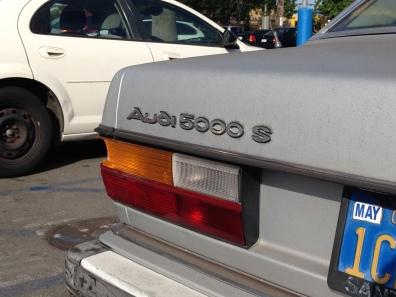 1984 Audi 5000 S (1)