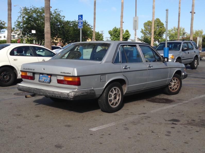 1984 Audi 5000 S (2)