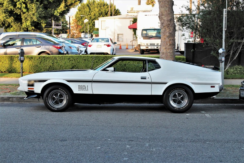 71 mach 1 side view