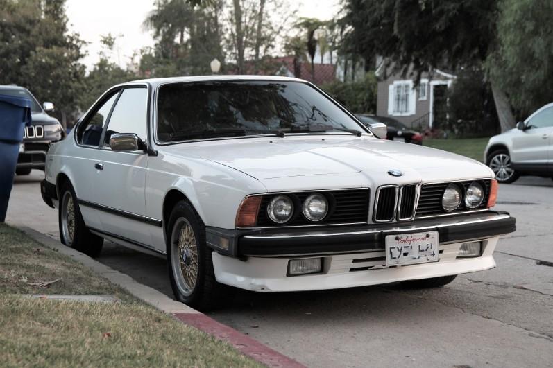 1987 BMW 635 CSi (1)