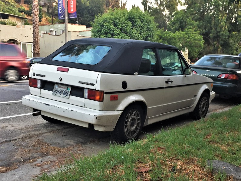 1989 VW Rabbit Cabriolet (1)
