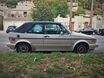 1989 VW Rabbit Cabriolet (2)