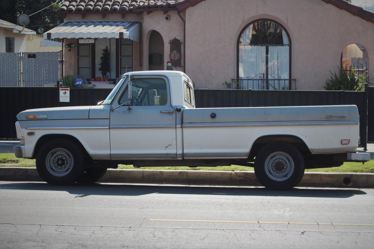 November 2017 La Car Spotting 1969 Ford Ranger F 250 4x4 Pickup Truck 5