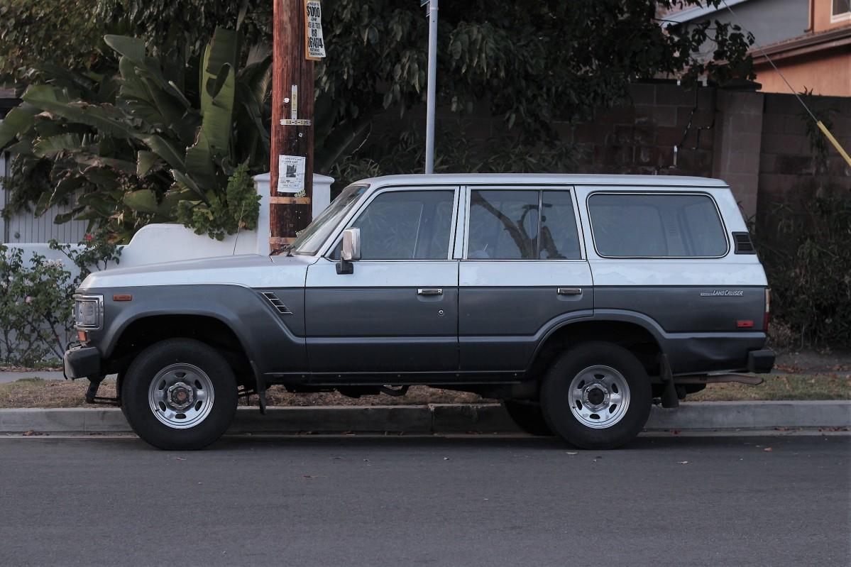 1988 Toyota Land Cruiser La Car Spotting