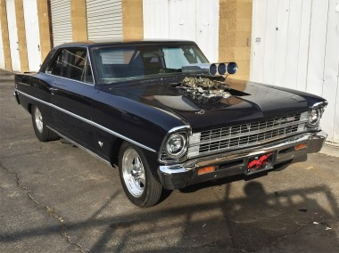 1967 Chevrolet Nova SS with Blower (1)