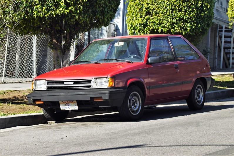 1985 Toyota Tercel Hatchback (1)
