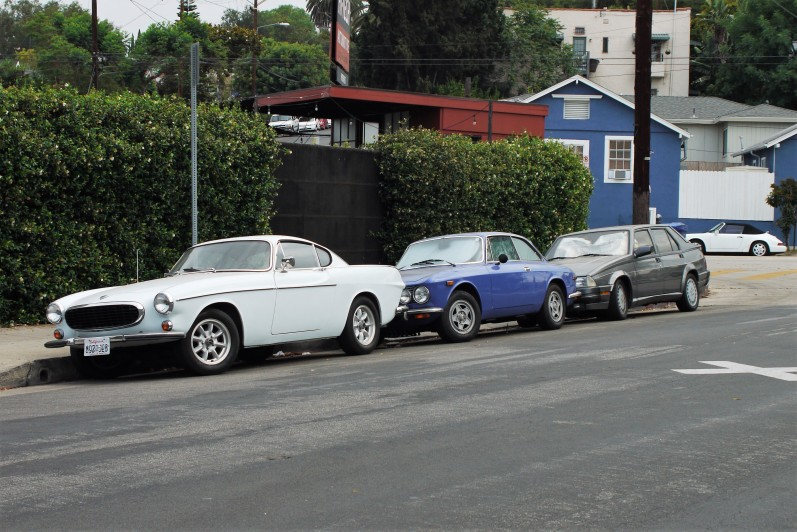 Alfa Romeo Milano and Volvo P1800 (1)
