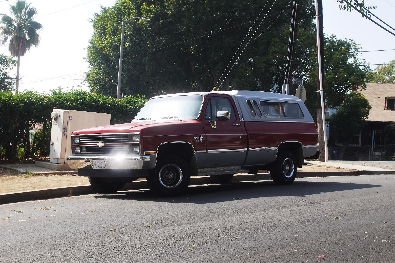 1982 Chevrolet Silverado C10 Pickup La Car Spotting