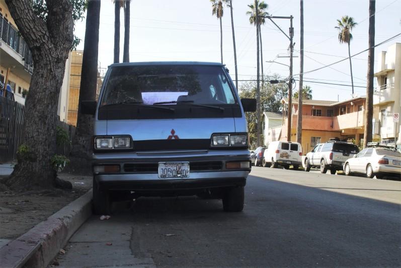 1990 Mitsubishi LS Wagon (Van) (5)