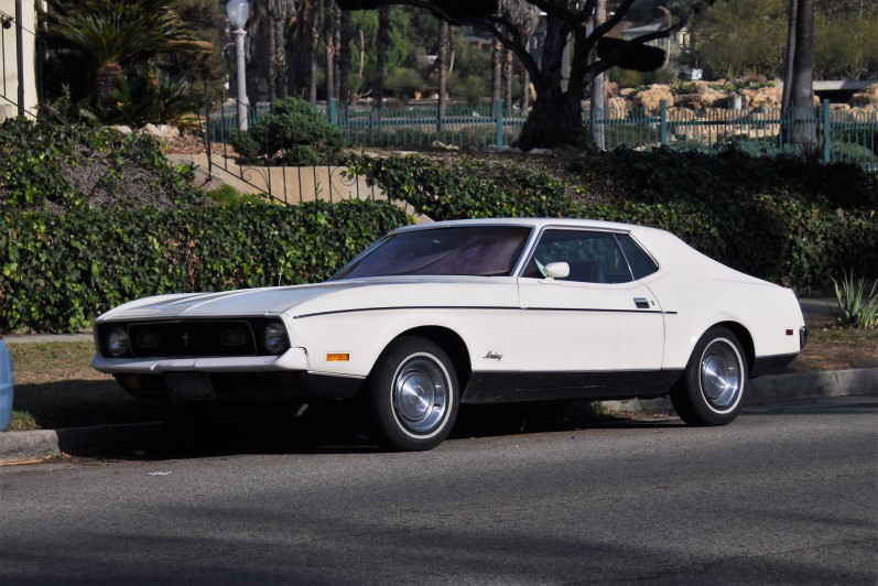 1971 Ford Mustang Coupe (1)