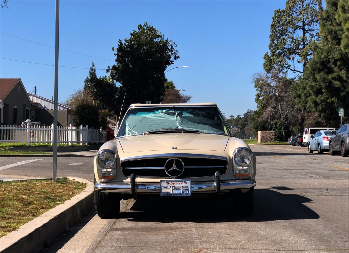 1969 Mercedes-Benz 280SL (4)