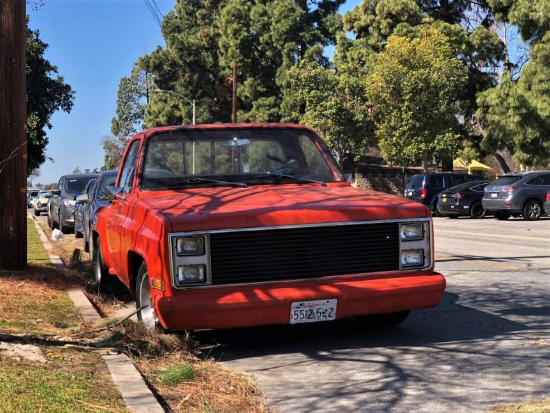 1984 Chevrolet Silverado C10 Stepside (2)