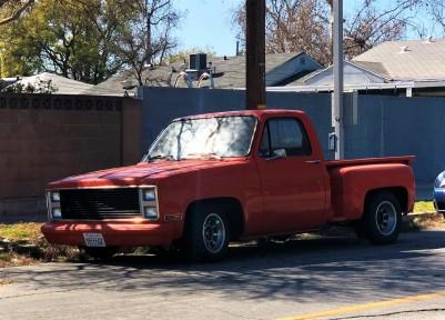 1984 Chevrolet Silverado C10 Stepside (3)